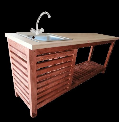 Mobil kerti konyha keverő csapteleppel FTA5